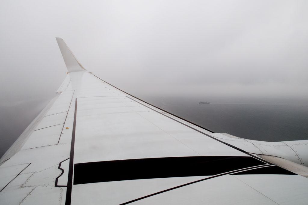 Approaching Nagoya