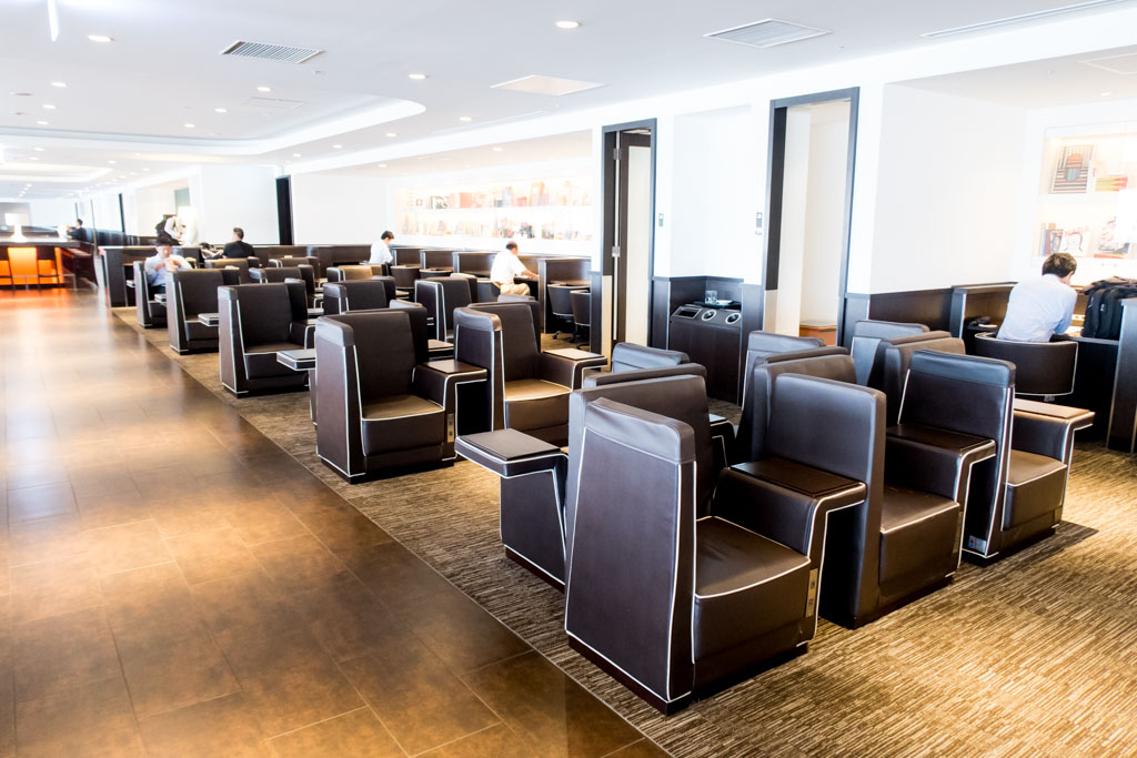 JAL Sakura Lounge Terminal 1 North at Tokyo Haneda Full Review