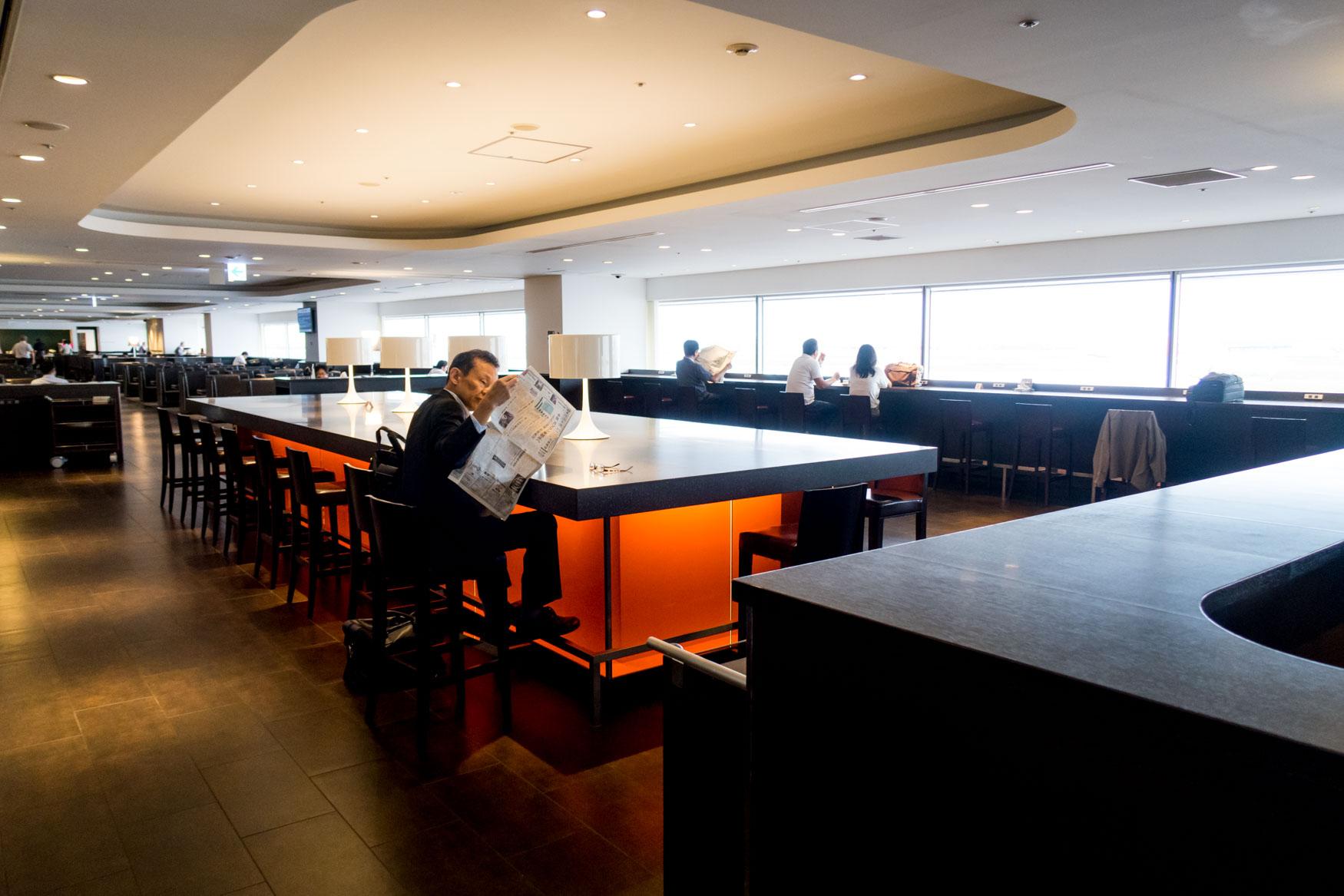 JAL Sakura Lounge Access Using Award Ticket Booked with Avios