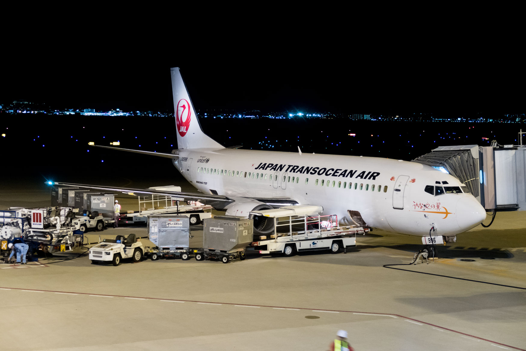 Japan Transocean Air Boeing 737-400
