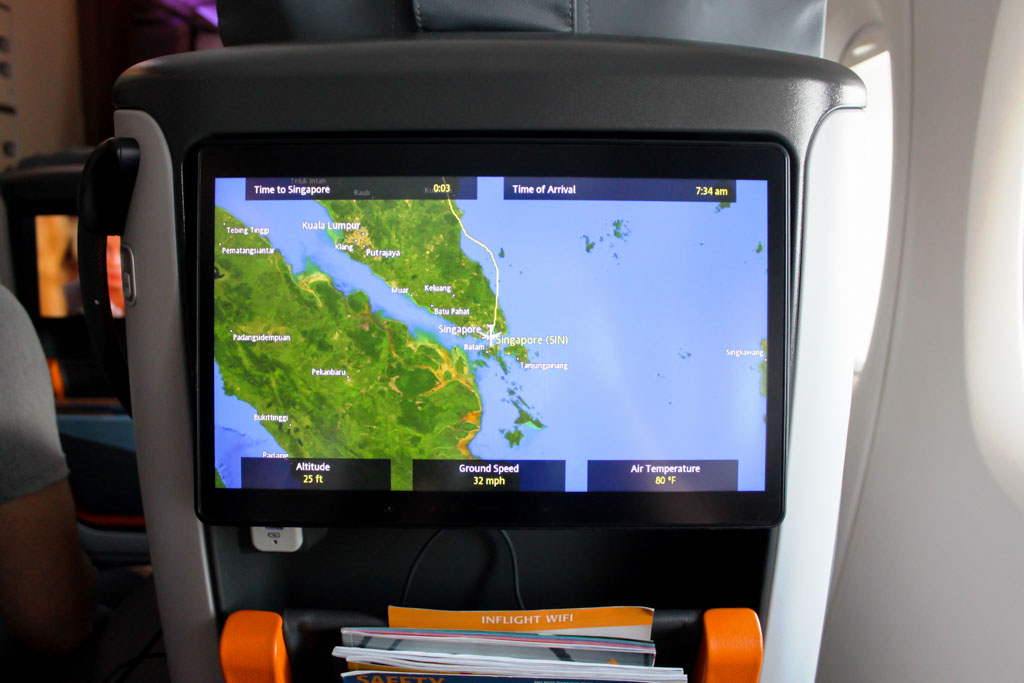 Singapore Airlines Screen