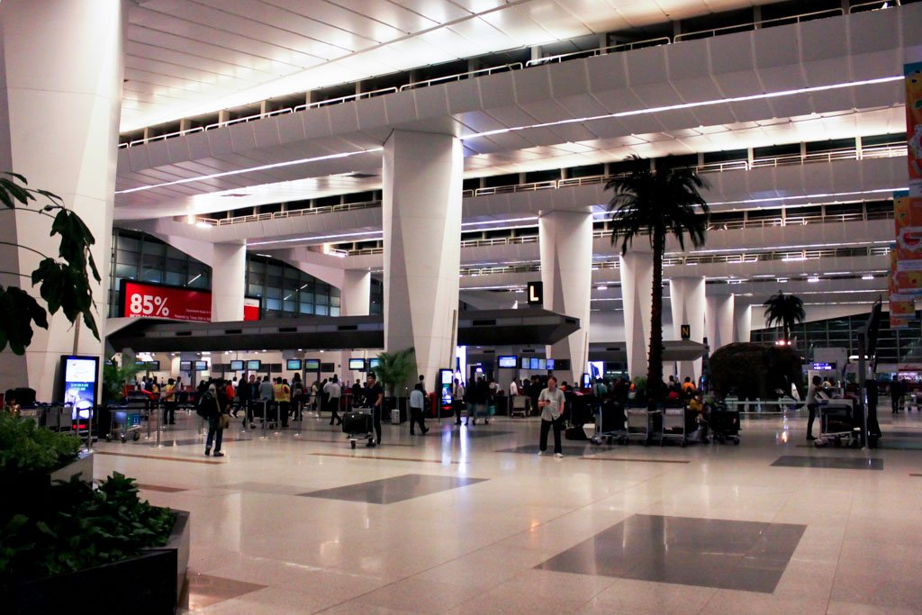 Delhi Airport Terminal