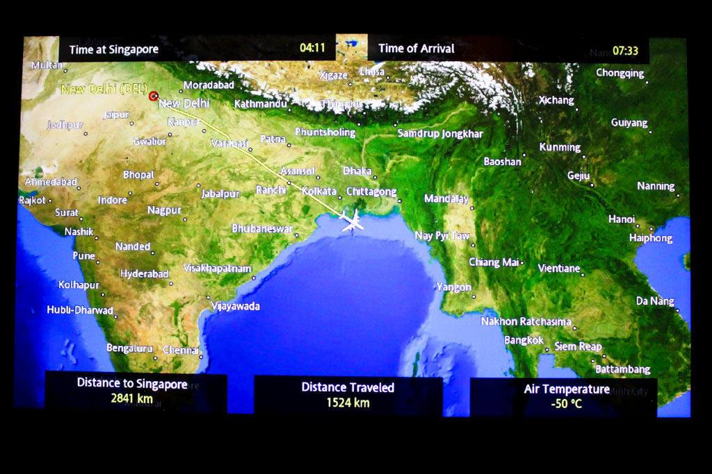Flight Review: Singapore Airlines A380 Premium Economy (DEL-SIN)