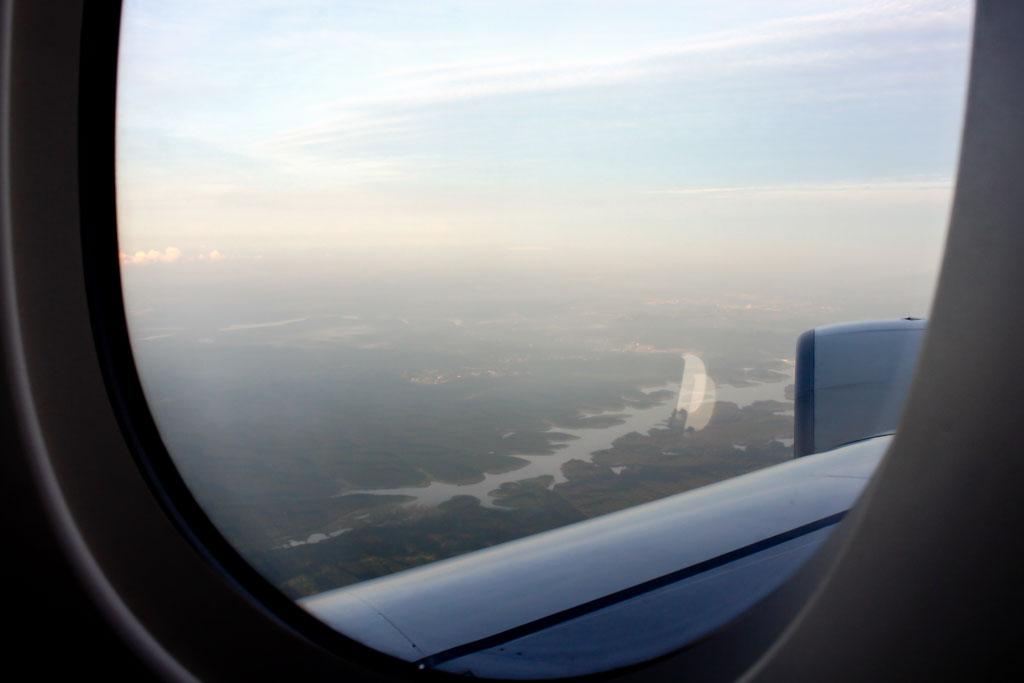 Approaching Singapore