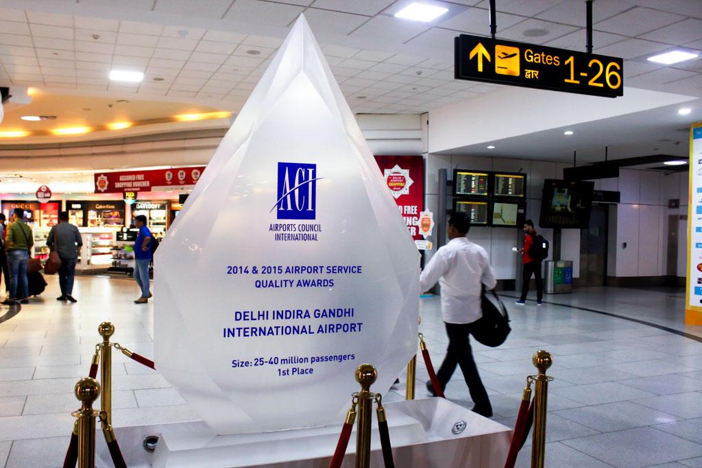 Delhi Airport Award