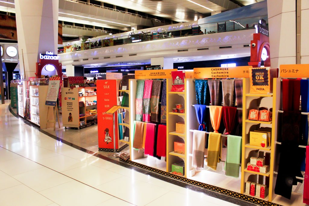 Delhi Airport Shopping