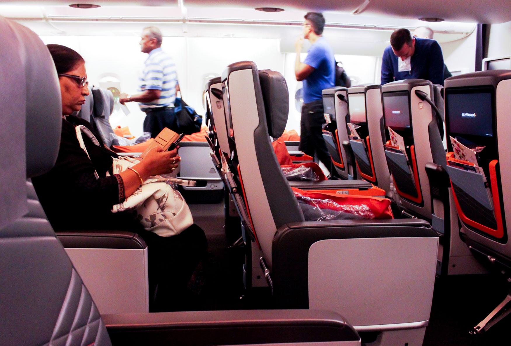 Singapore Airlines Premium Economy Class
