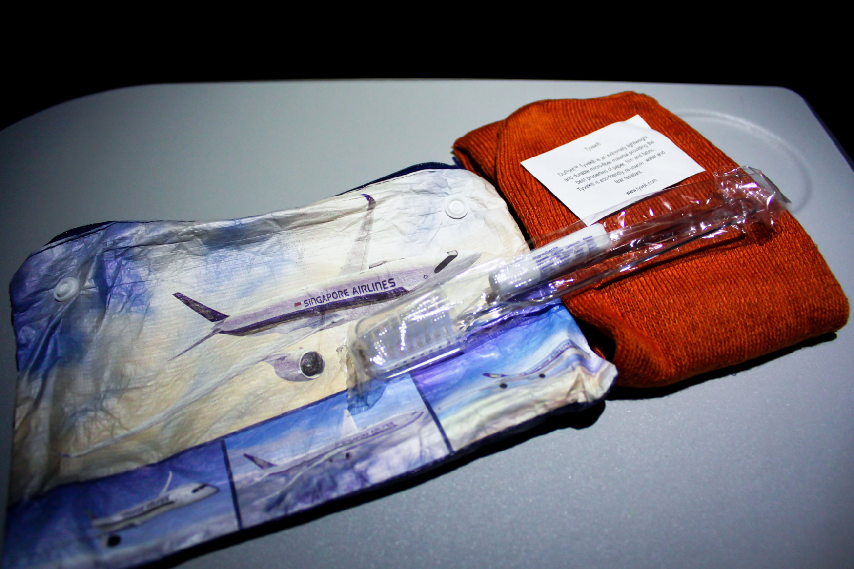 Singapore Airlines Amenity Kit