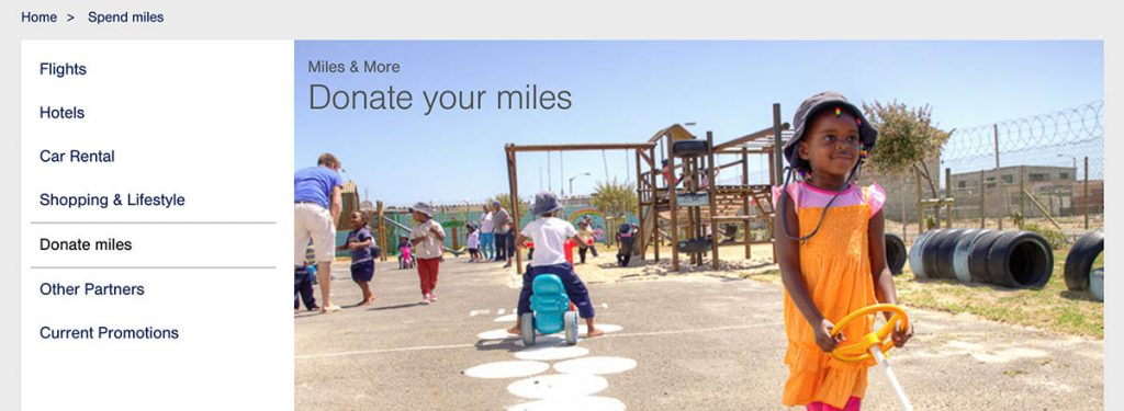 Have Some Expiring Miles That You Have No Use for? Donate Them to a Charity