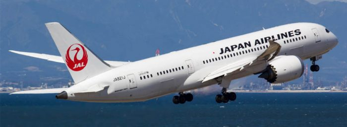 Japan Airlines Orders 4 Boeing 787-8s to be Used on Domestic Flights from 2019