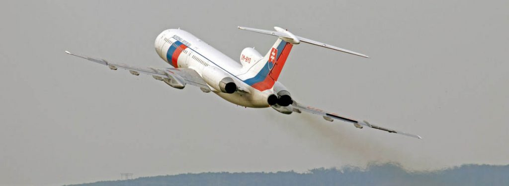 After a Short Extension of Life, the Slovak Tupolev Tu-154 Retired on September 27, 2017