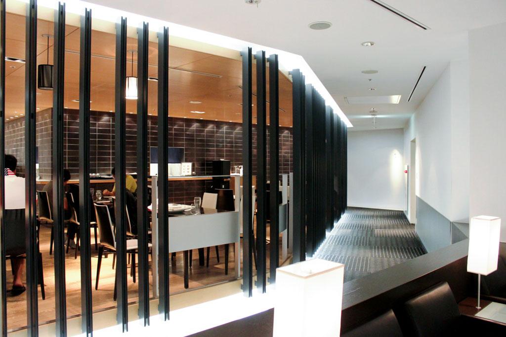 ANA Lounge Tokyo Narita Dining Area