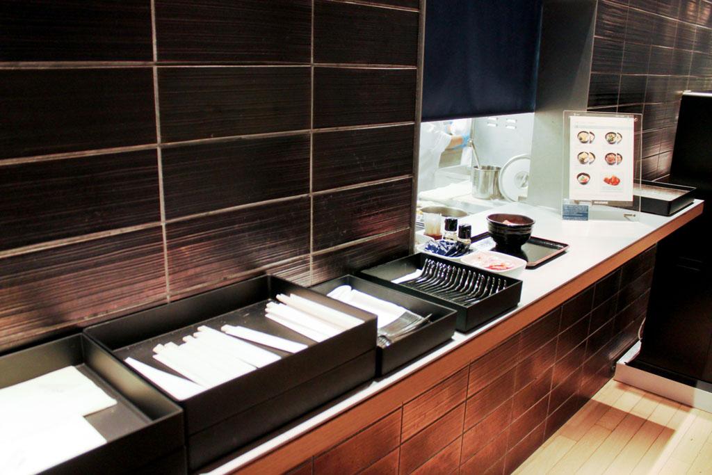 ANA Lounge Tokyo Narita Noodle Bar