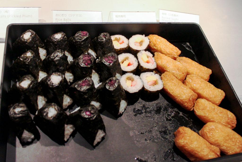 Onigiris and Sushi