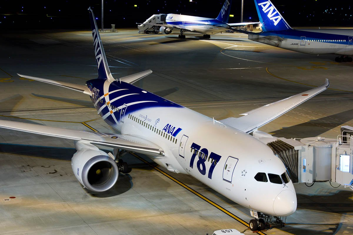 A Look at All ANA 787 Liveries as the Second