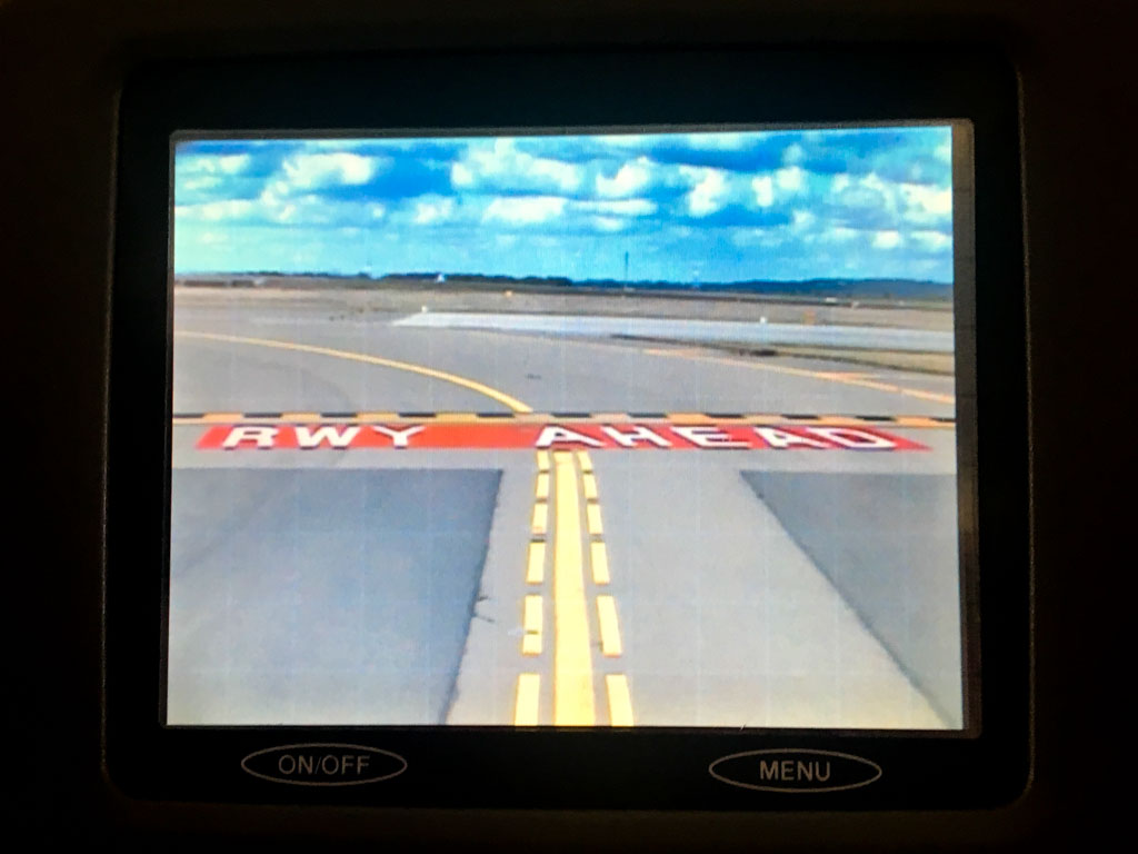 Entering Runway