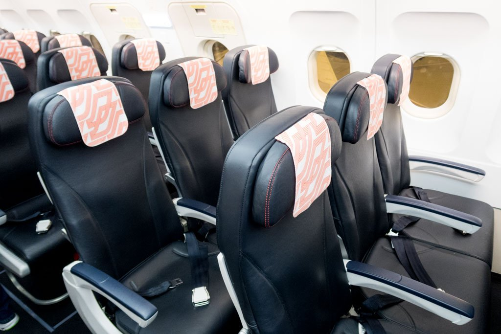 Air France A320 Economy Class