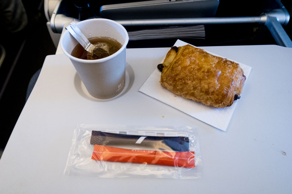 Air France A320 Snack