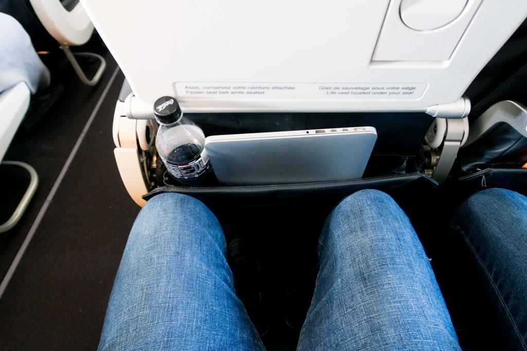 Air France A320 Leg Room