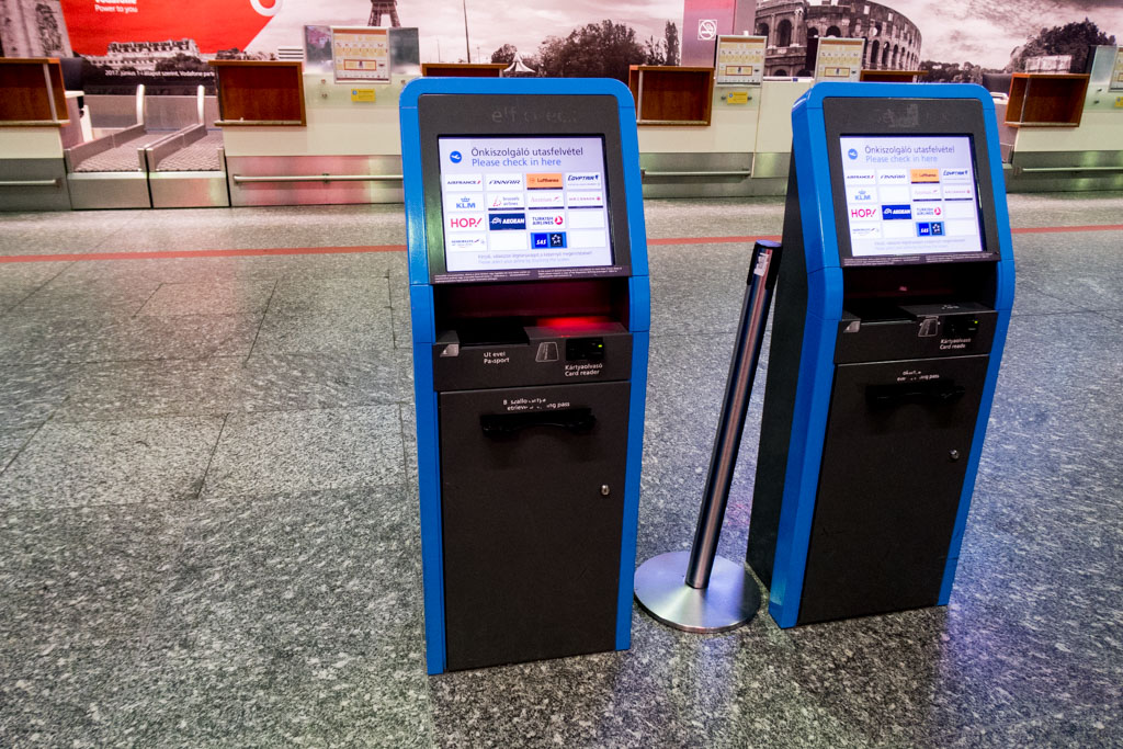 Self Check-in Kiosks