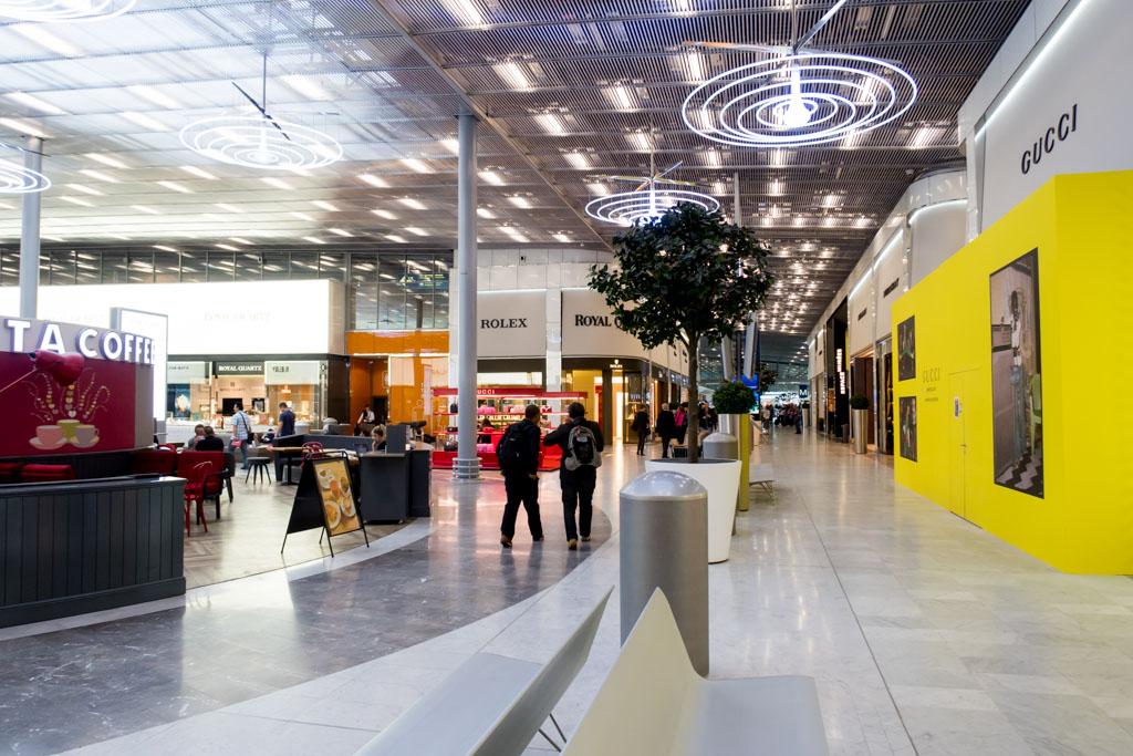 Paris CDG Terminal 2E Concourse M