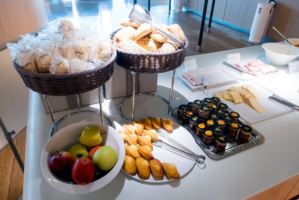 Air France Business Class Lounge Bread