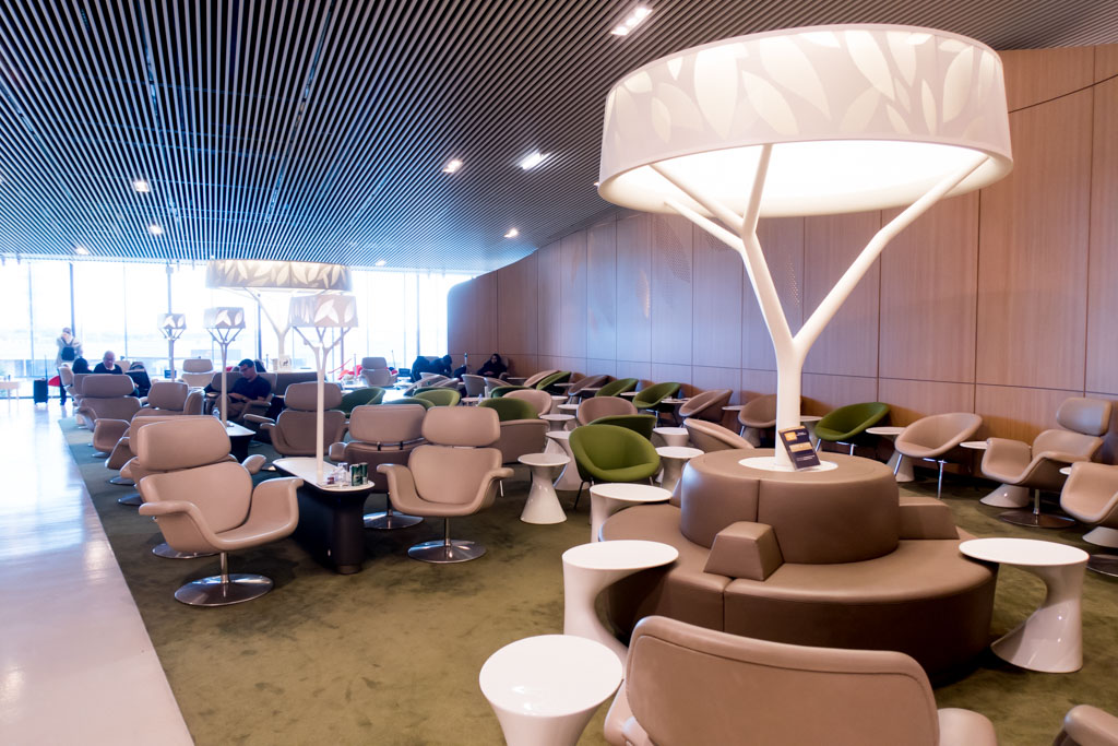Air France Salon Terminal 2E M Seating