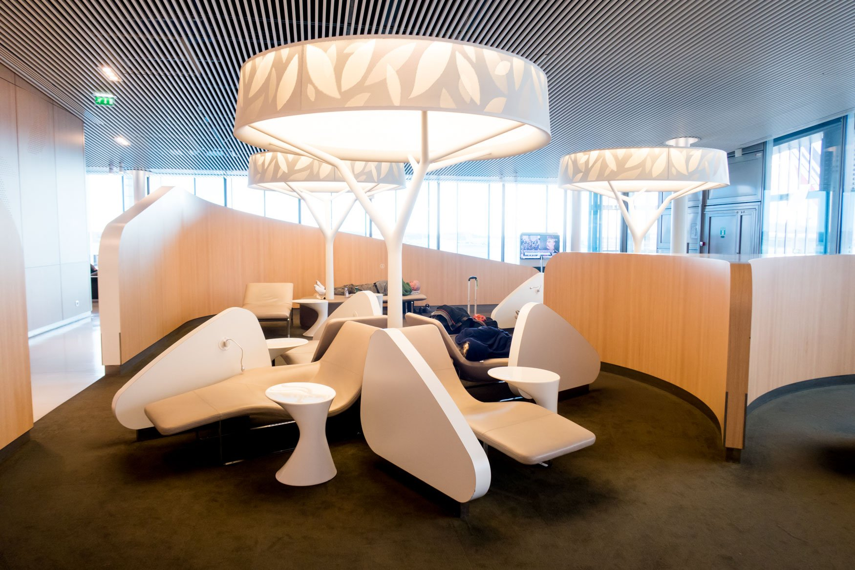Air France Lounge Sleeping Area