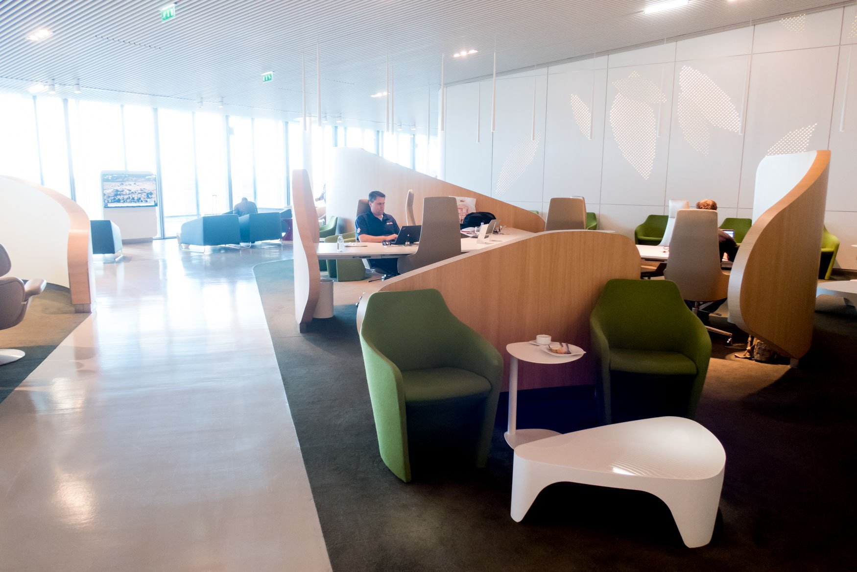 Air France Lounge Working Area