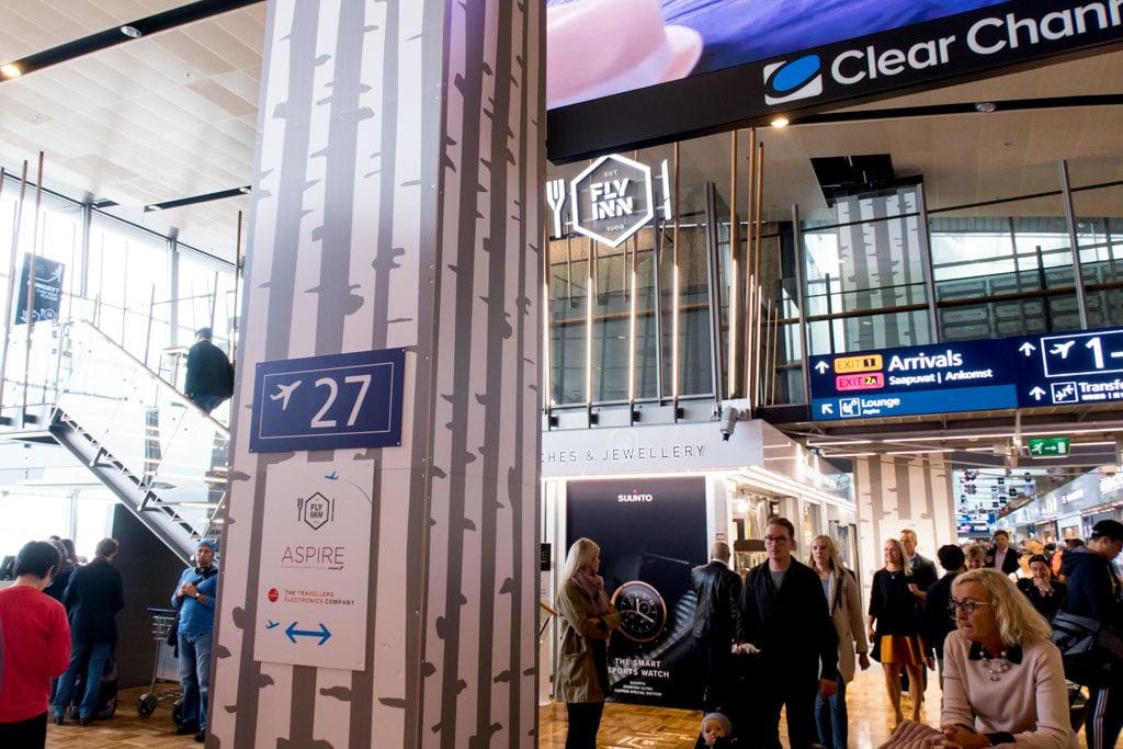 Aspire Lounge Helsinki