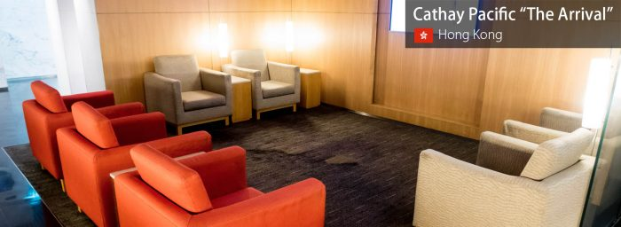 """Lounge Review: Cathay Pacific """"The Arrival"""" at Hong Kong International"""