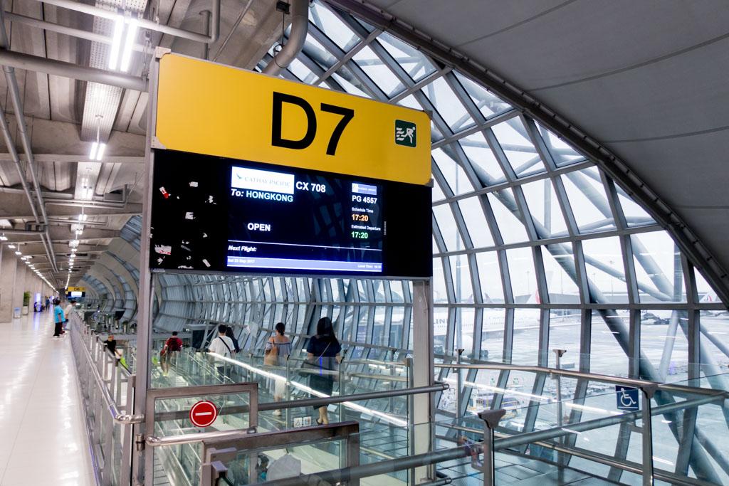 Bangkok Suvarnabhumi Gate D7