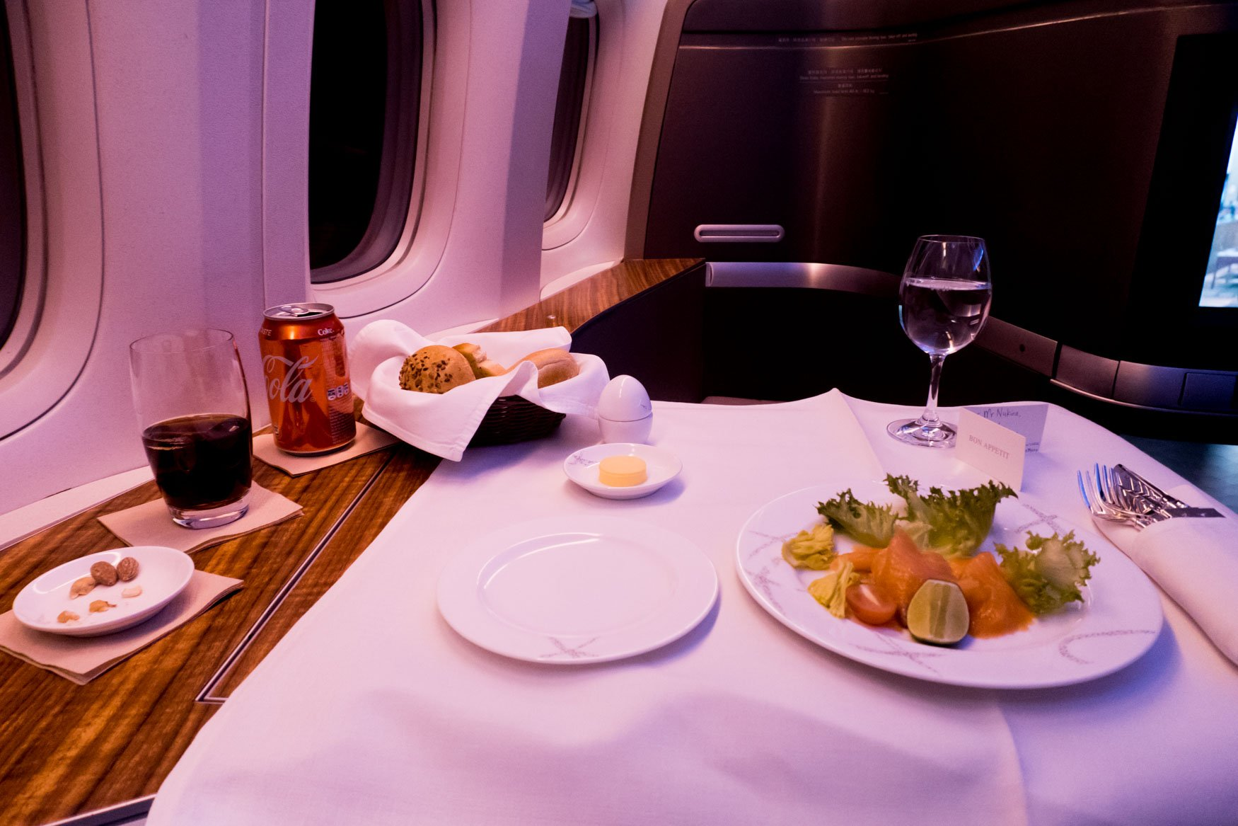 Cathay Pacific First Class Starter