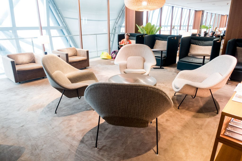 Cathay Pacific First and Business Class Lounge