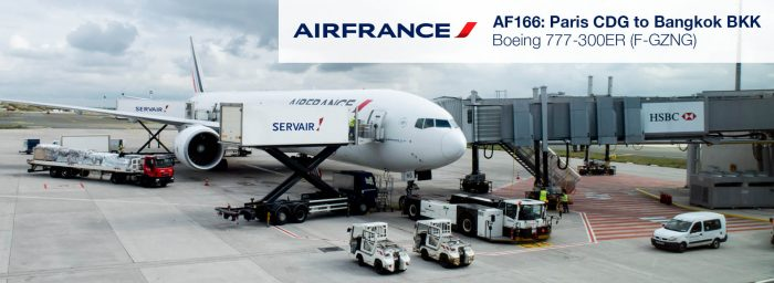 Flight Review: Air France 777-300ER Economy Class from Paris CDG to Bangkok BKK