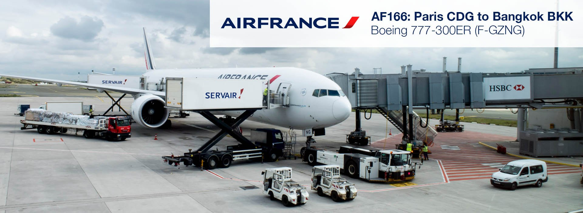 Flight Review: Air France 777-300ER Economy from Paris to Bangkok