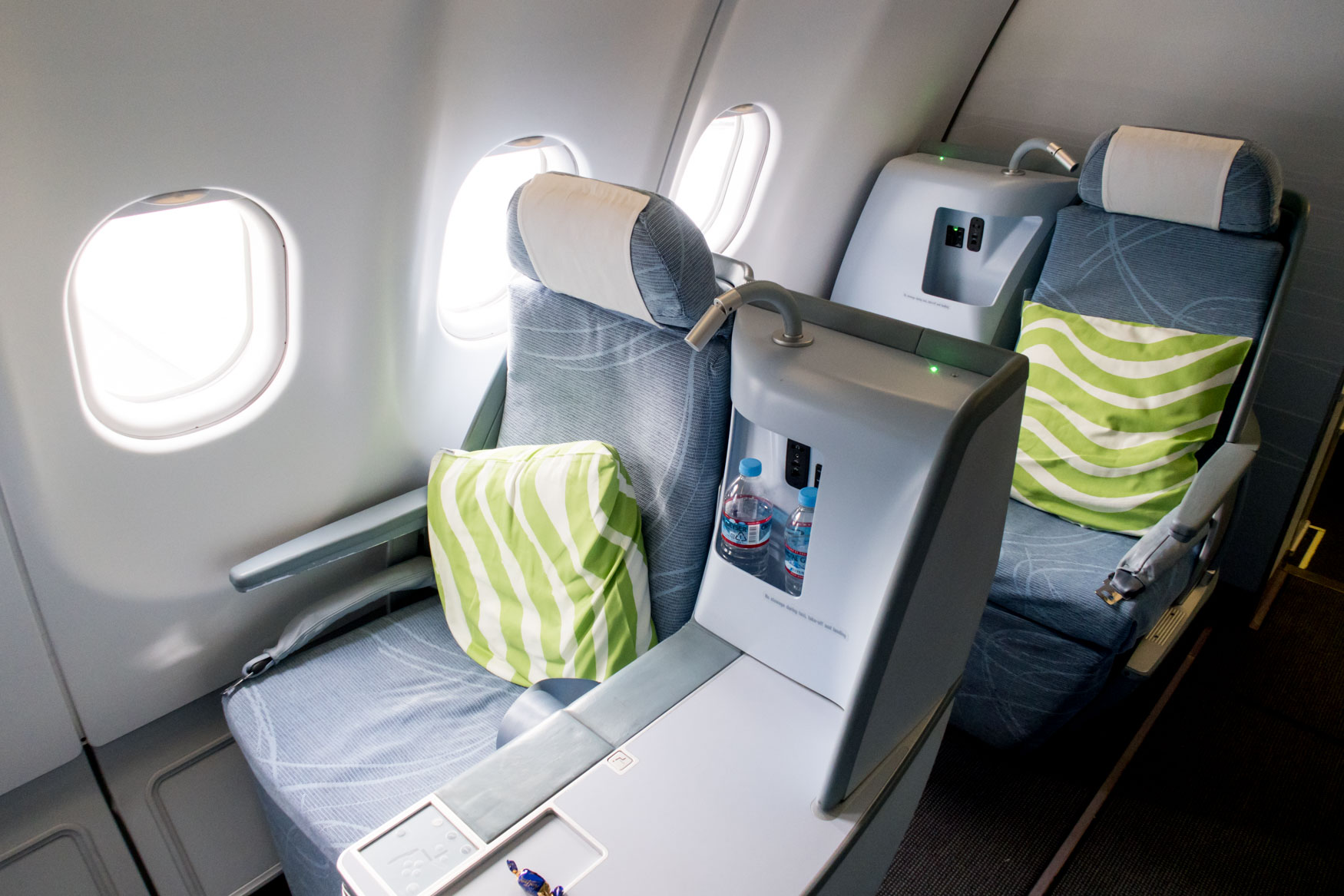 Finnair A330-300 Business Class Cabin