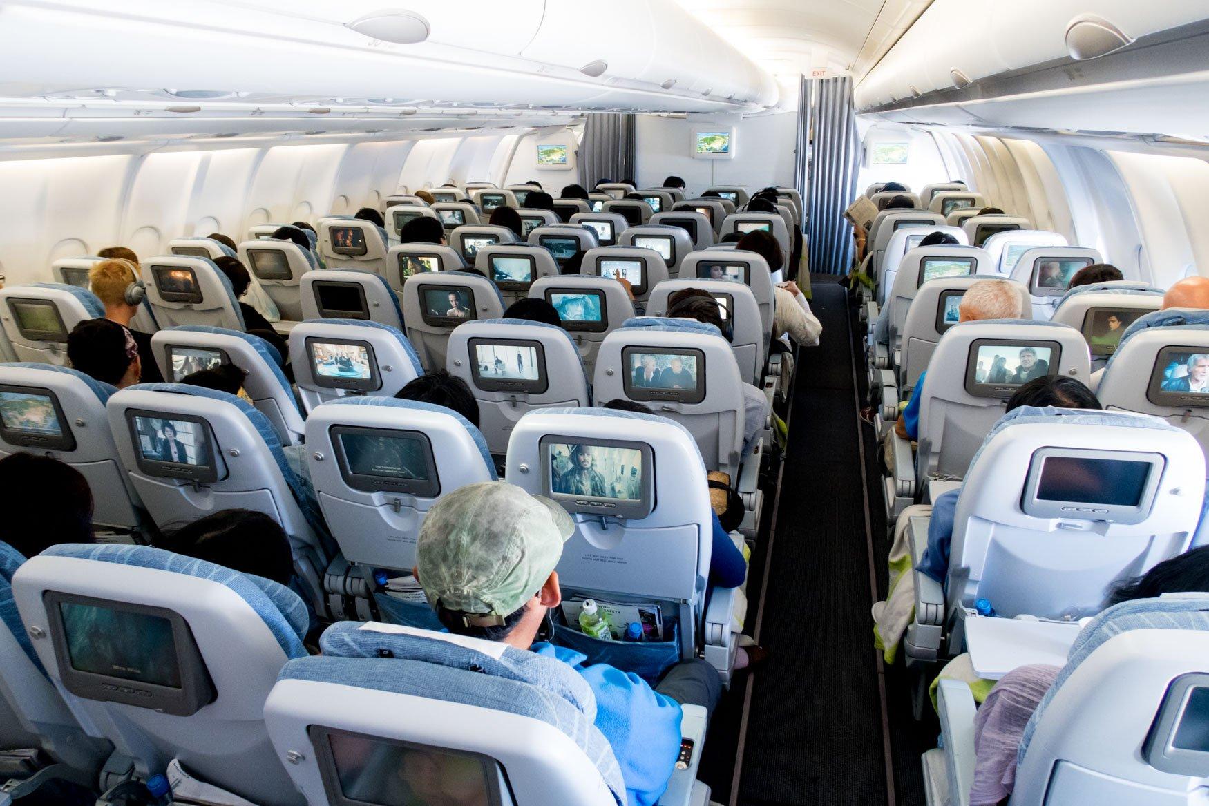 Finnair A330-300 Economy Class Cabin
