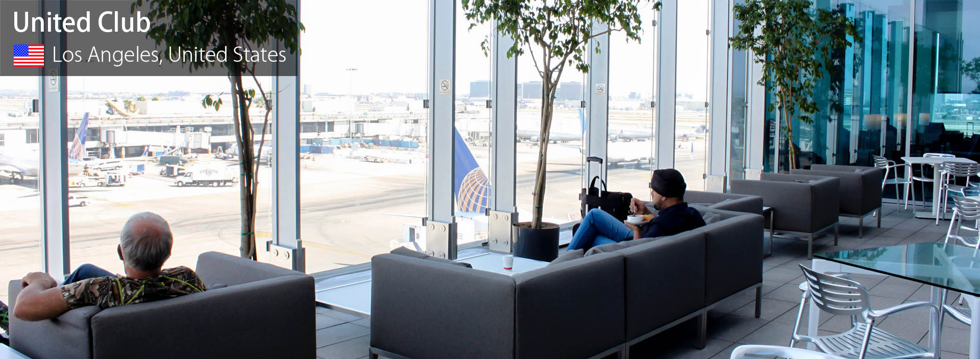 Lounge Review: United Club at Los Angeles International
