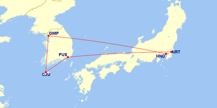 New Trip Map
