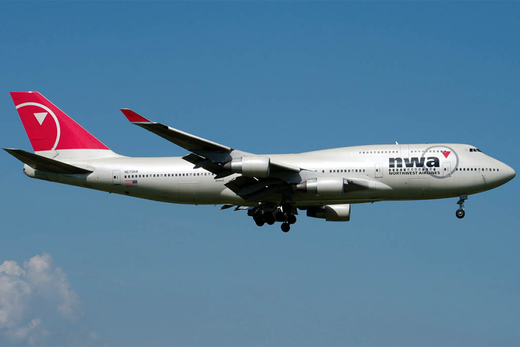 Northwest Airlines Boeing 747-400