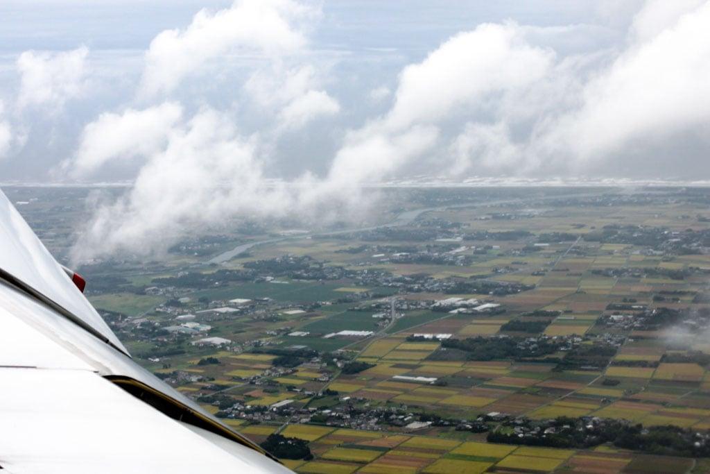 Approaching Narita