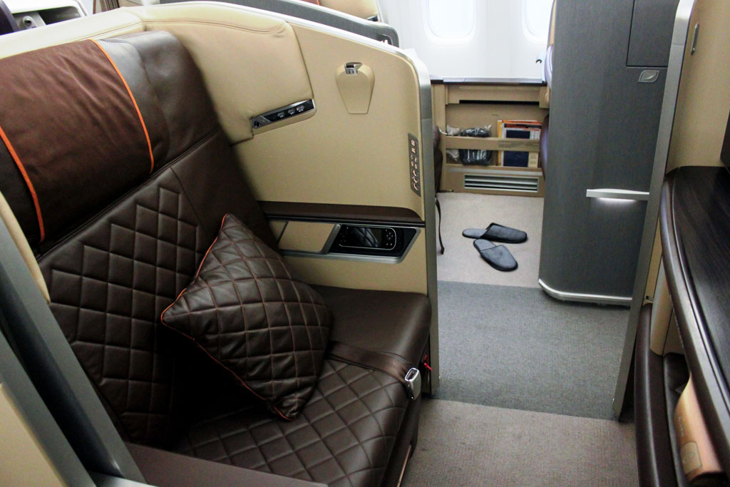 Singapore Airlines 777-300ER First Class