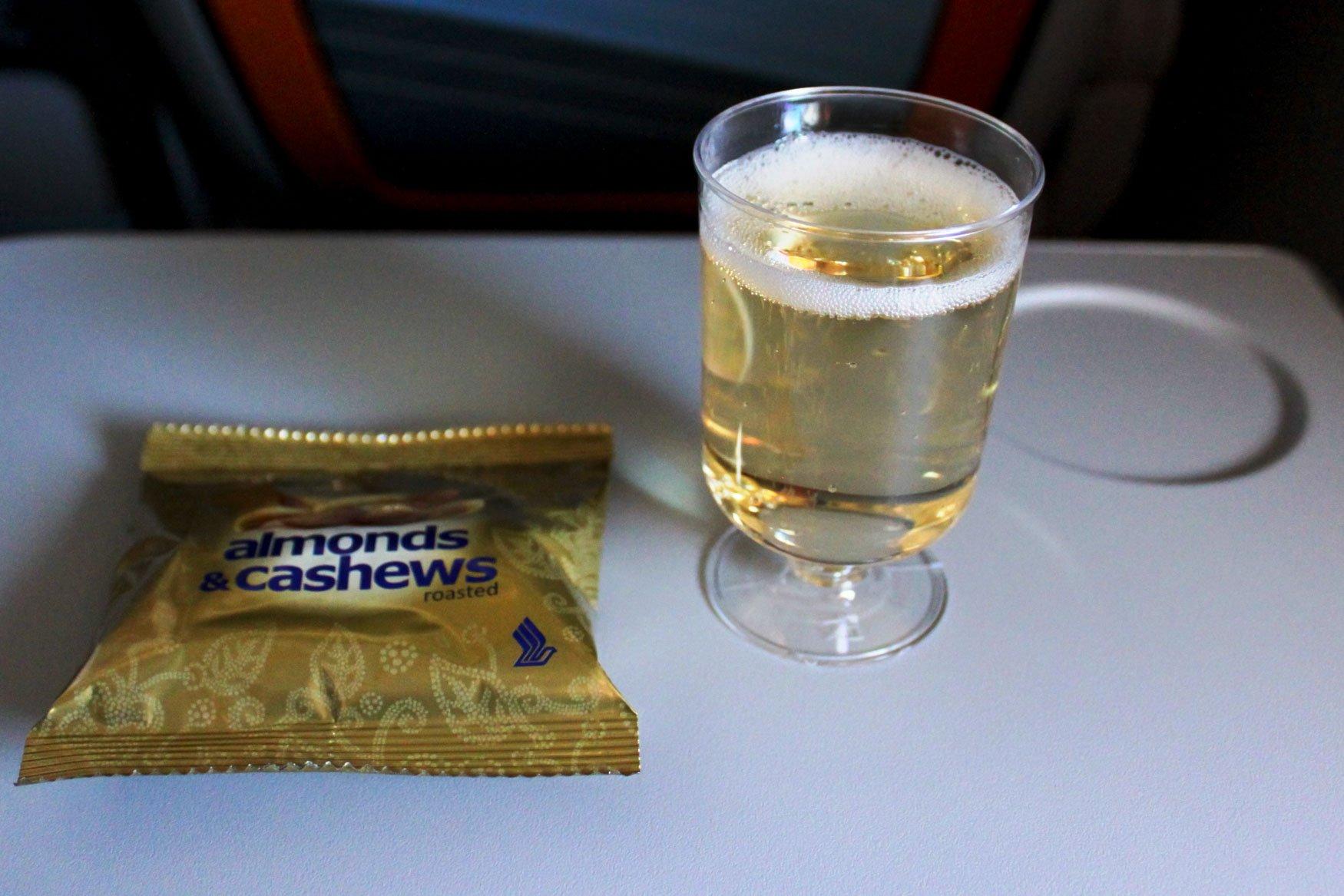 Champagne Singapore Premium Economy