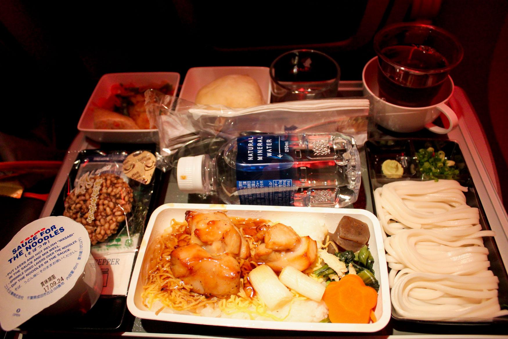 Singapore Airlines Yakitori