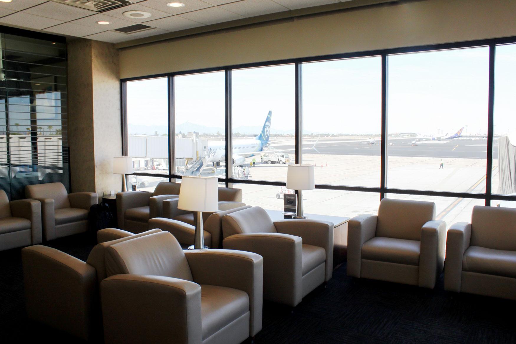 United Club Phoenix Seating