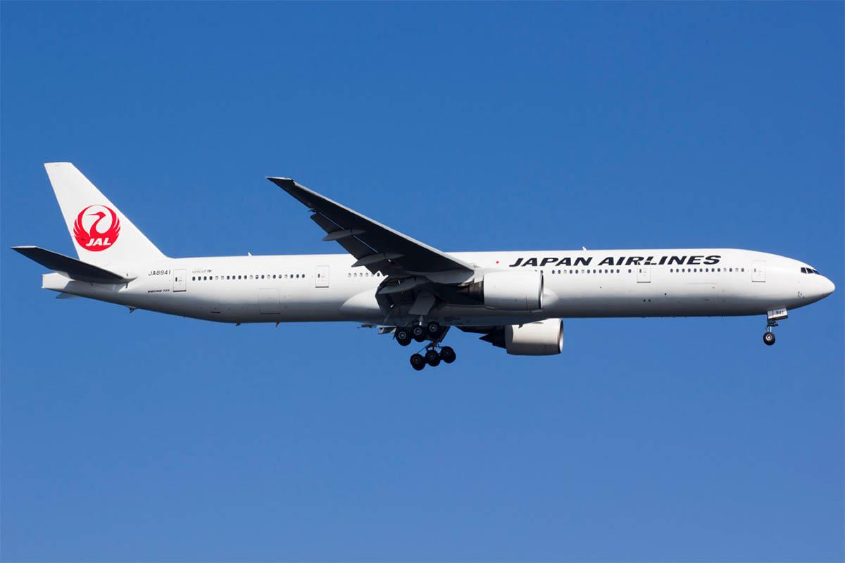 JAL Japan Airlines 777-300