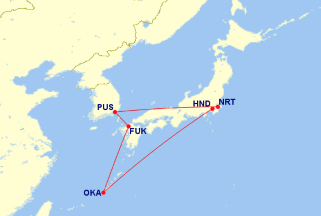 Trip Preview: The New Jinbei Jet Inaugural with an Unexpected Detour to South Korea