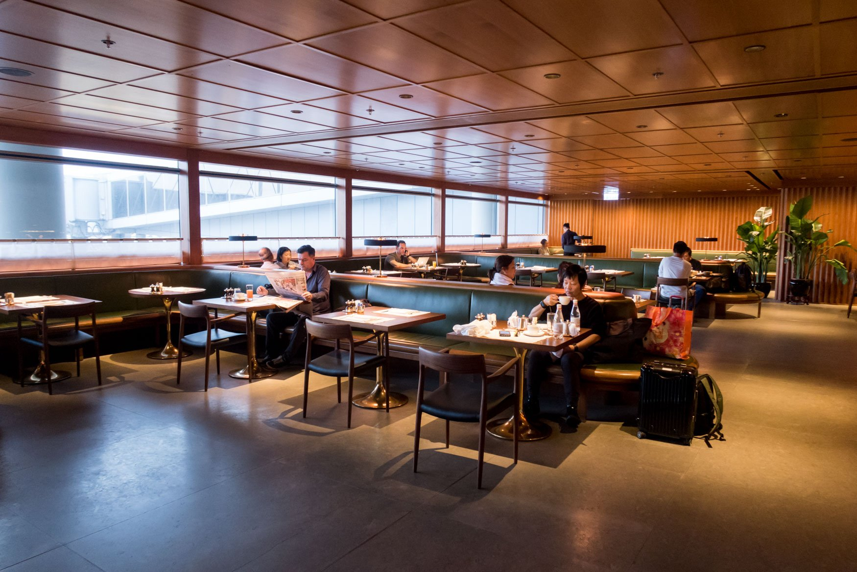 Cathay Pacific The Pier First Dining Room