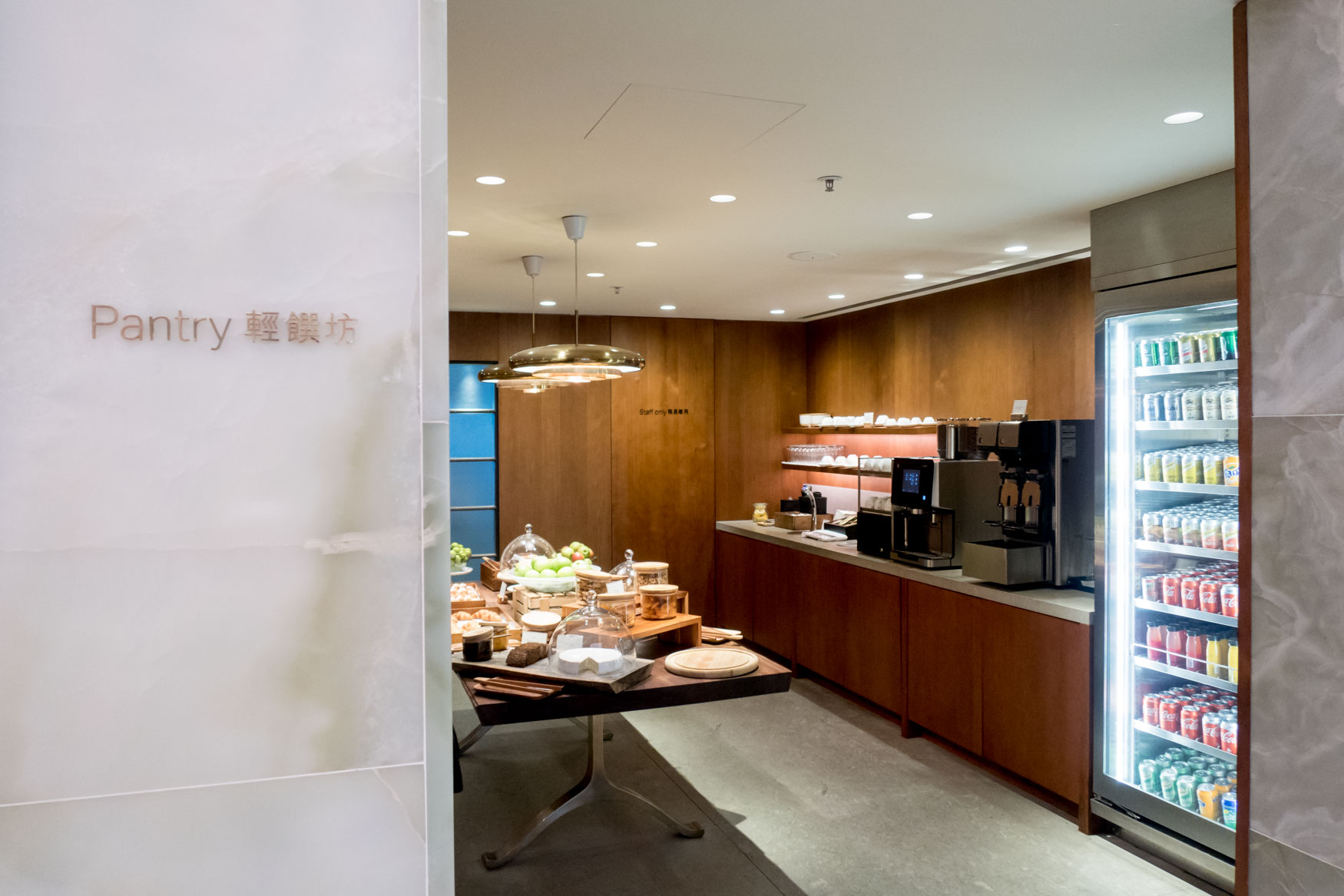 The Pantry at Cathay Pacific The Pier First